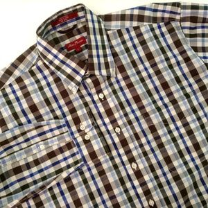 Alan Flusser Plaid Shirt